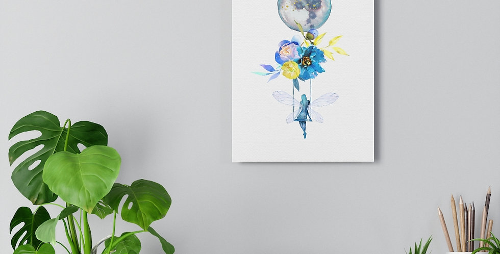 Fairy Moon Giclée Art Print