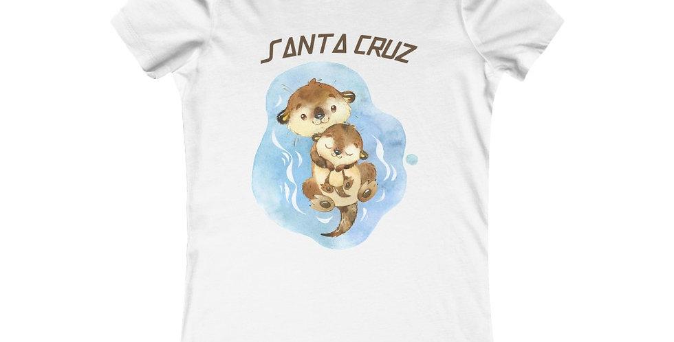 Santa Cruz Otter family women's T-shirt