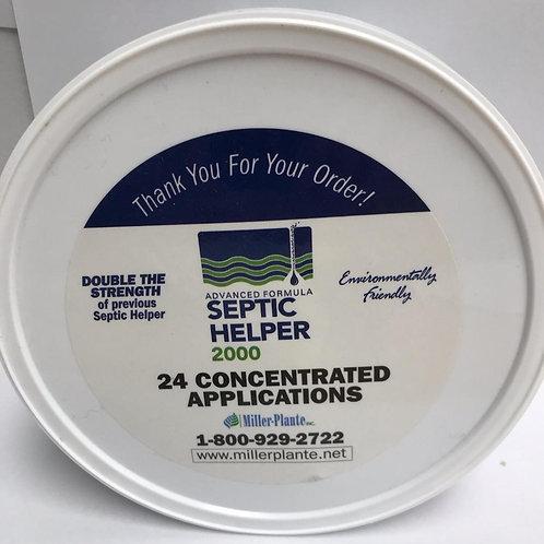 Septic Helper 2000 - 24 applications
