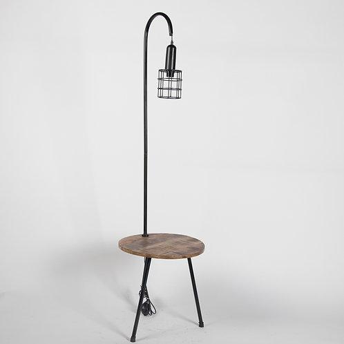 Bijzettafel+ Lamp