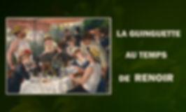 Une reconstitution du cèlébre tableau de Monet, le déjeuner sur l'herbe.