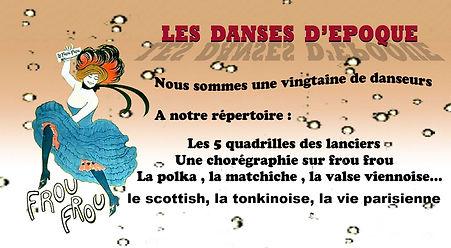 Les danses à la Belle Epoque : Découvrez un extrait de nos danses