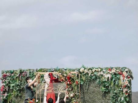 戶外證婚 | 新莊頤品大飯店GALA DE CHINE-晶冠廣場X亞特蘭花園[新人實拍]