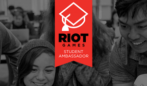 Riot Student Ambassador Logo