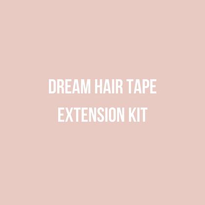 Dream Hair Kit Tape Extension Kit
