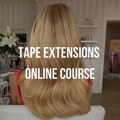 Tape Extensions Online Course