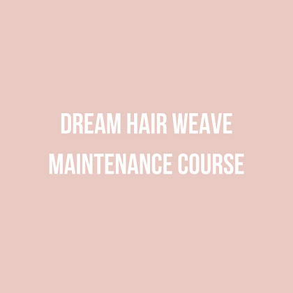 Weave Maintenance Course