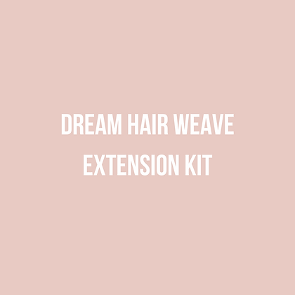 Dream Hair Weave Extension Kit