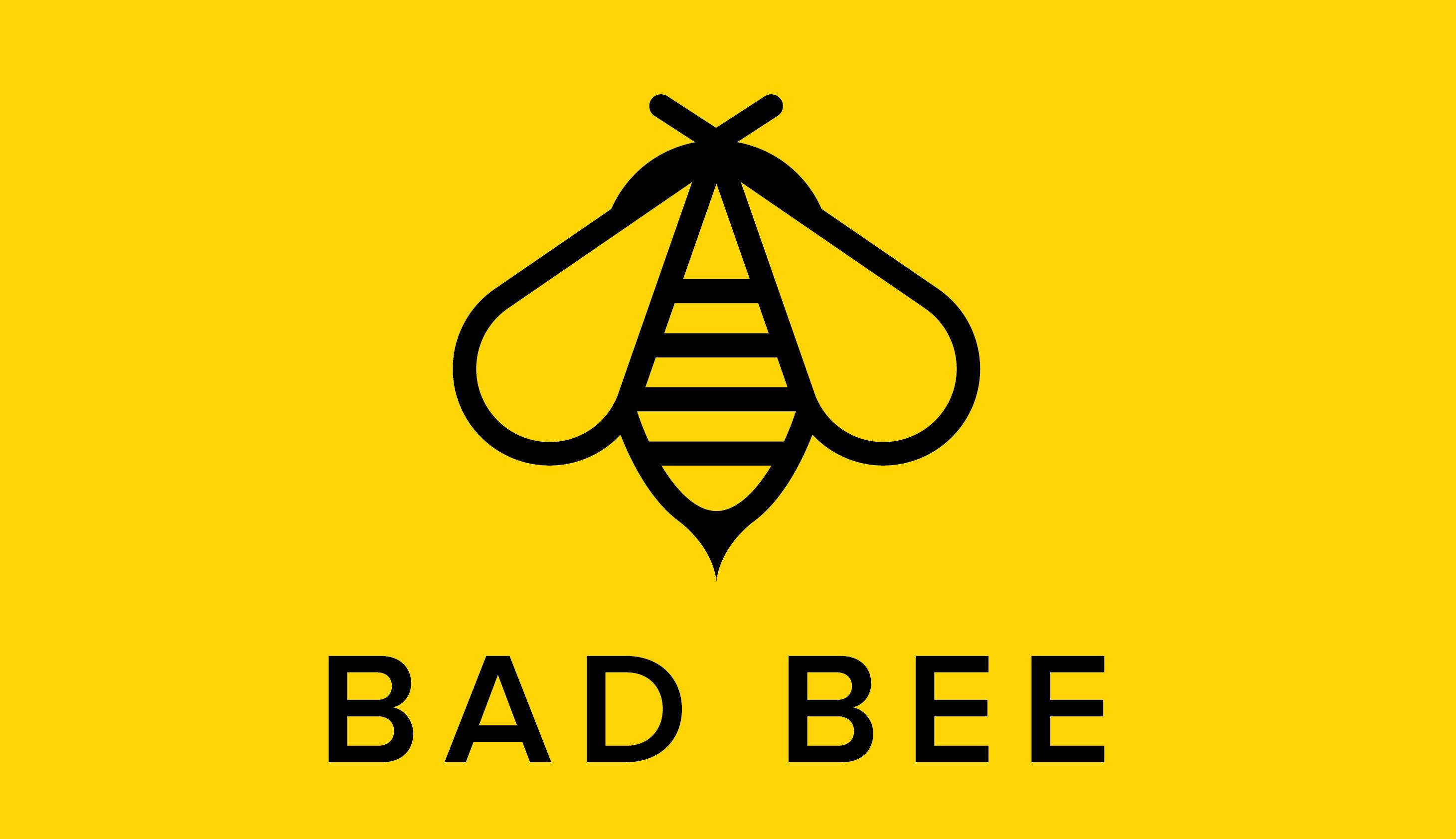 BadBee Logo - Label
