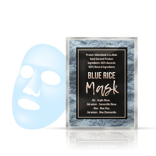 Blue Rice Mask