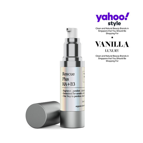 Rescue Plus Hyaluronic Acid and Niacinamide Face Treatment for Acne-prone Skin