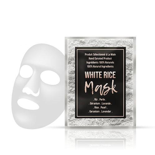 White Rice Mask