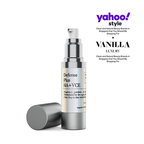 Defense Plus Hyaluronic Acid, Vitamin C & E Face Treatment for Dry & Aging Skin