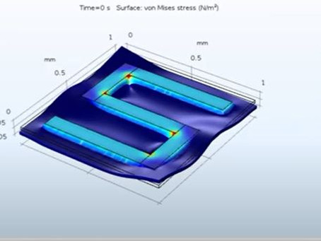 Joule heating effect | Multiphysics applied in Integrated Circuits | cv47.org