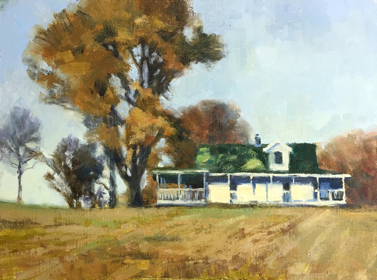The Bauer Farm, 9x12, SOLD