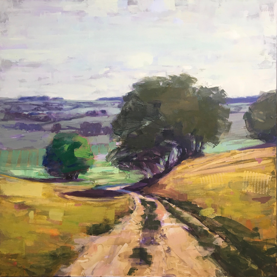 Journeys 35, 40x40, SOLD