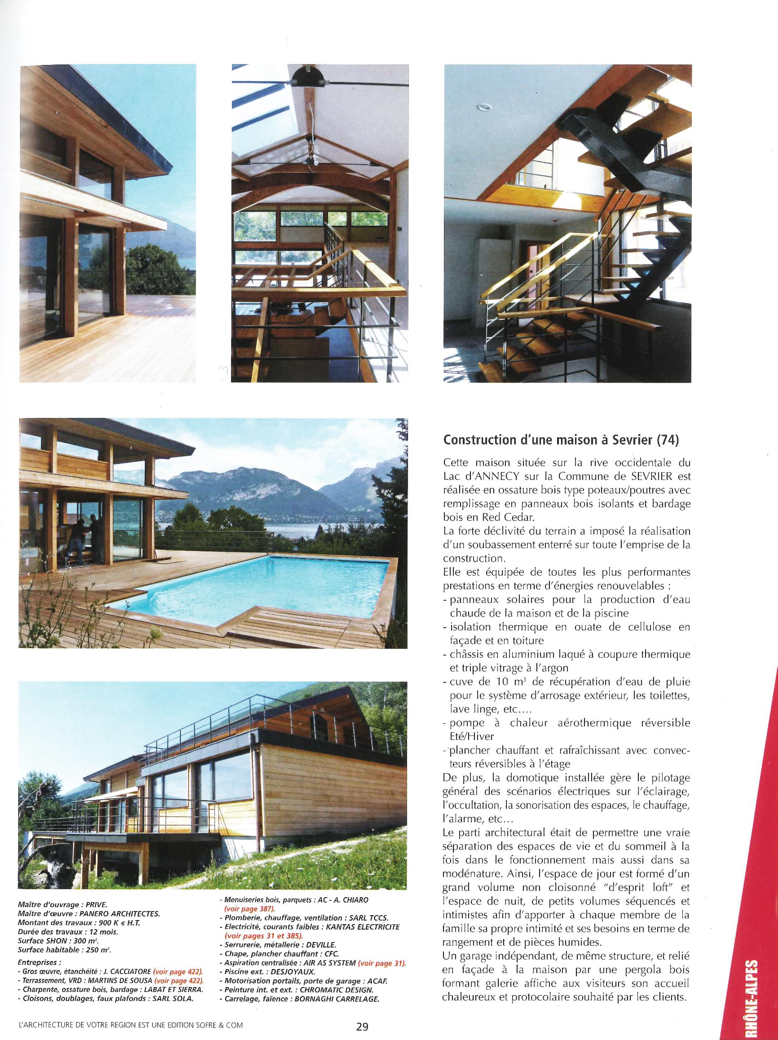 L'Architecture de votre région