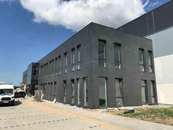 logistic Halle in Breslau - Bauleitung