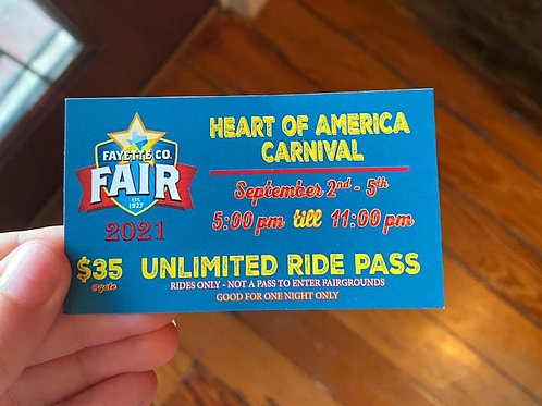 Carnival Ride - Daily Pass