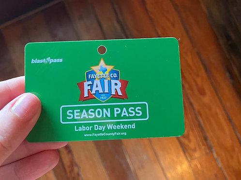2021 Fayette Co Fair Ticket