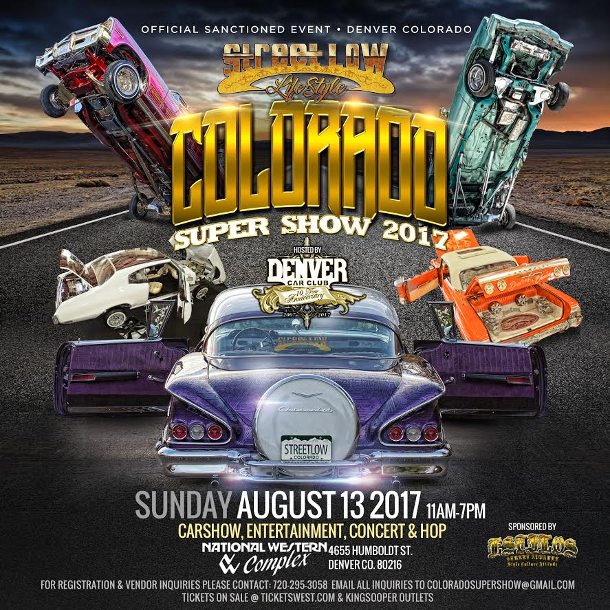 ColoradoSuperShow Carshow Exhibition - Streetlow car show 2018