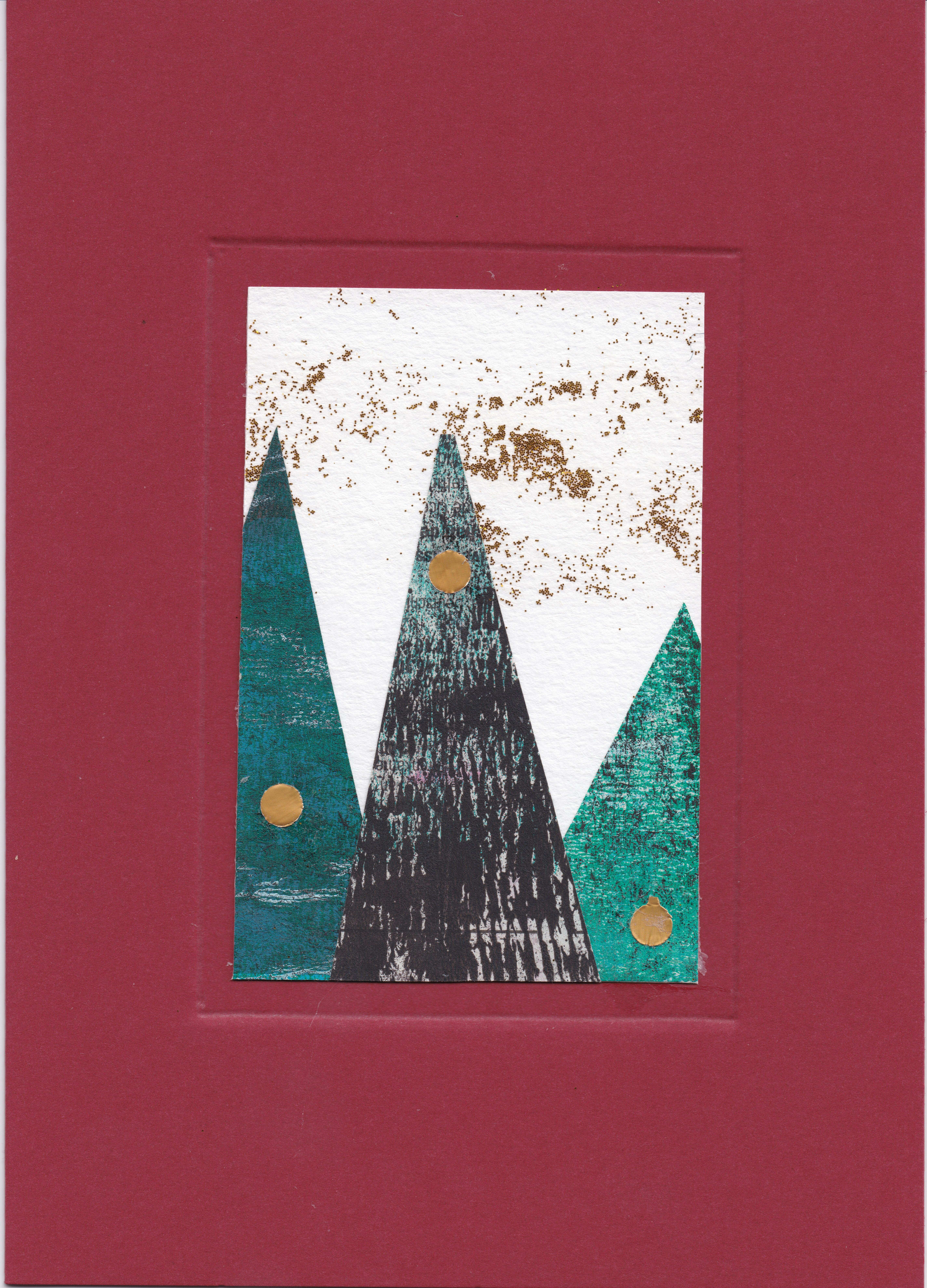 Bild - Weihnachtskarte 2019 - Rot