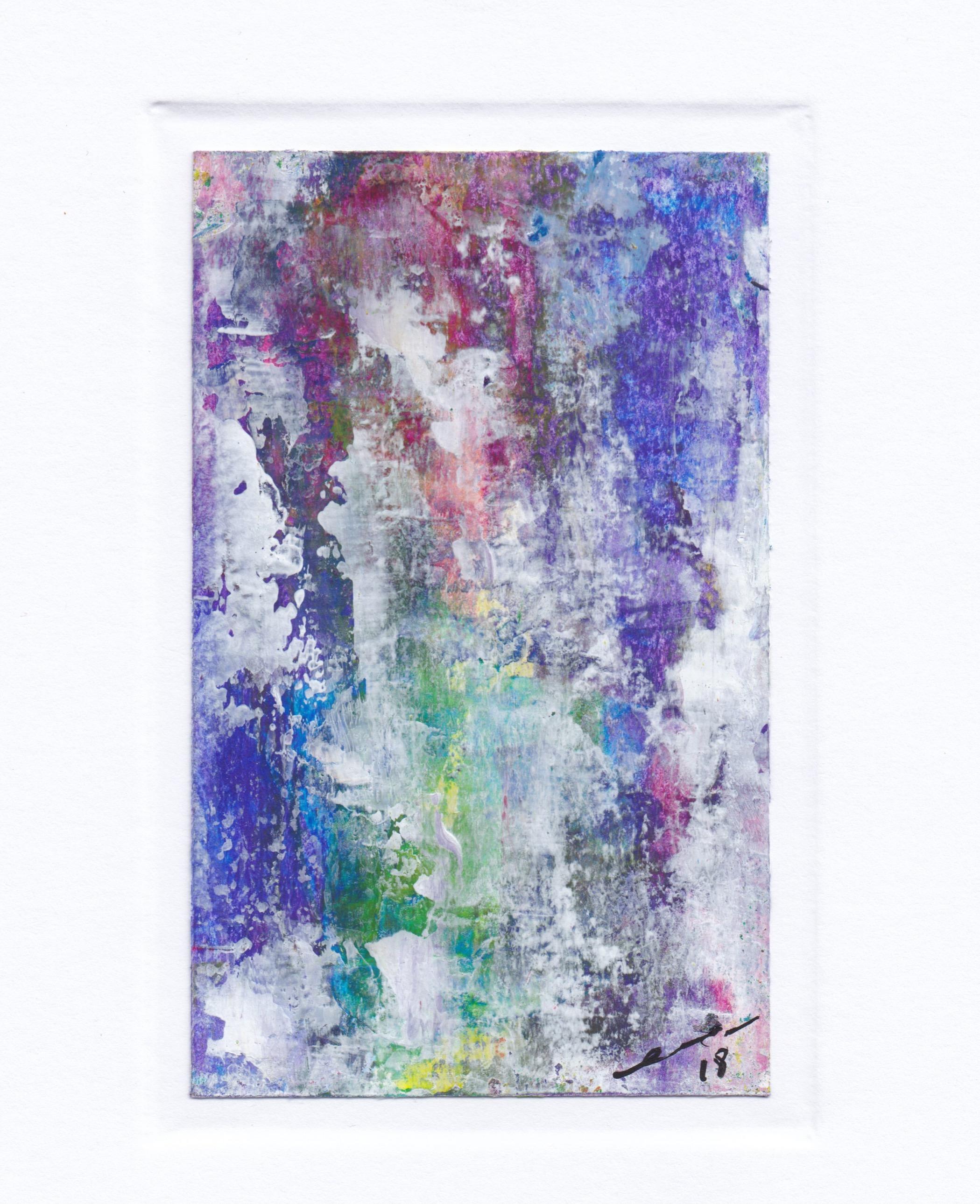 Karte - Acryl 2018