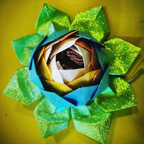 Origami Lotus Lamp