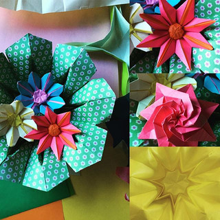 Mother's Day gift in progress! #origami