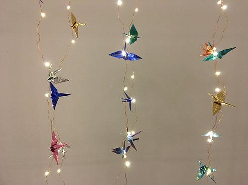 Origami Crane LED String Lights