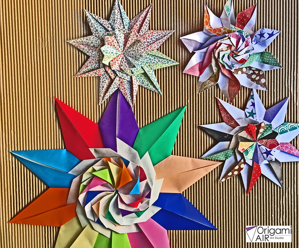 10 pointed star by Tomoko Fuse