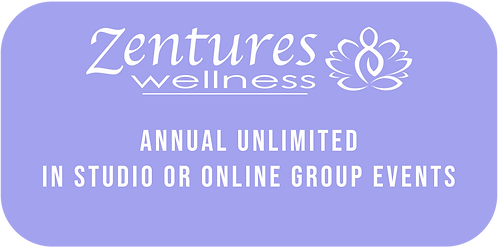 Annual Unlimited In Studio or Online Group Events
