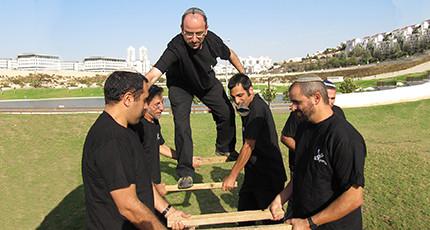 פעילות אתגרית מגבשת עם משה כהן