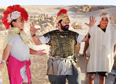 פעילות לחנוכה עם משה כהן