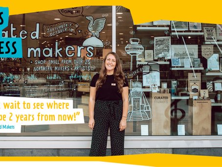 Curated Makers Founder, Megan Jones, Wins Young Innovators Award 2020/21