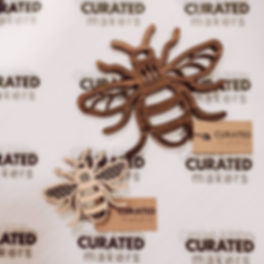 These laser cut bees keep, quite literal