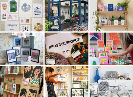 Inspiration for getting involved with #postablepopup