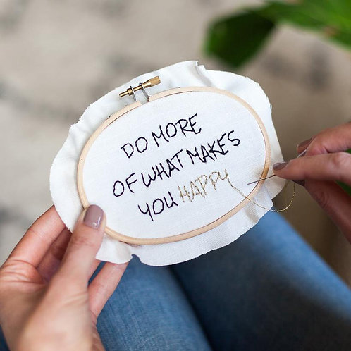 Stitch Kit - Do more of what makes you happy