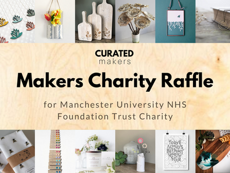 Curated Makers raises £1495 for Manchester NHS