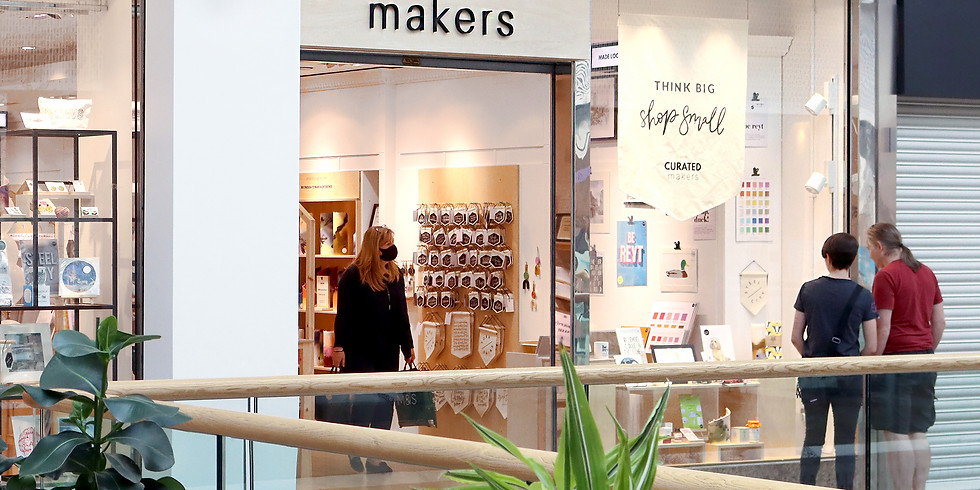Curated Makers at Meadowhall