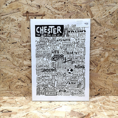 Chester A4 Print