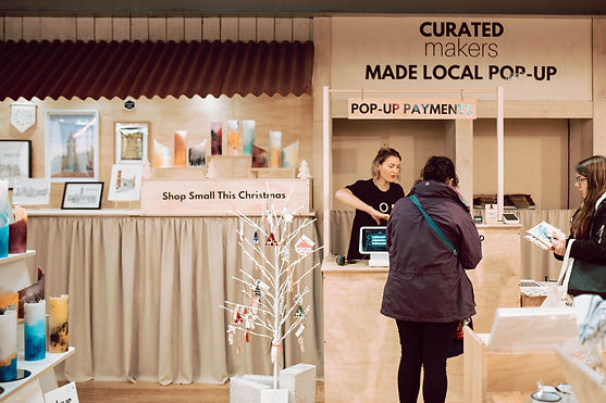 Curated Makers Made Local Pop-Up at Pape