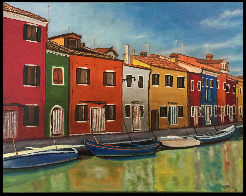 """The Vibrant Colors of Burano"""