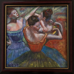 """Homage To Degas - """"The Dancers"""""""