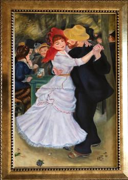 "Homage To Renoir - ""Dance at Bougival"""