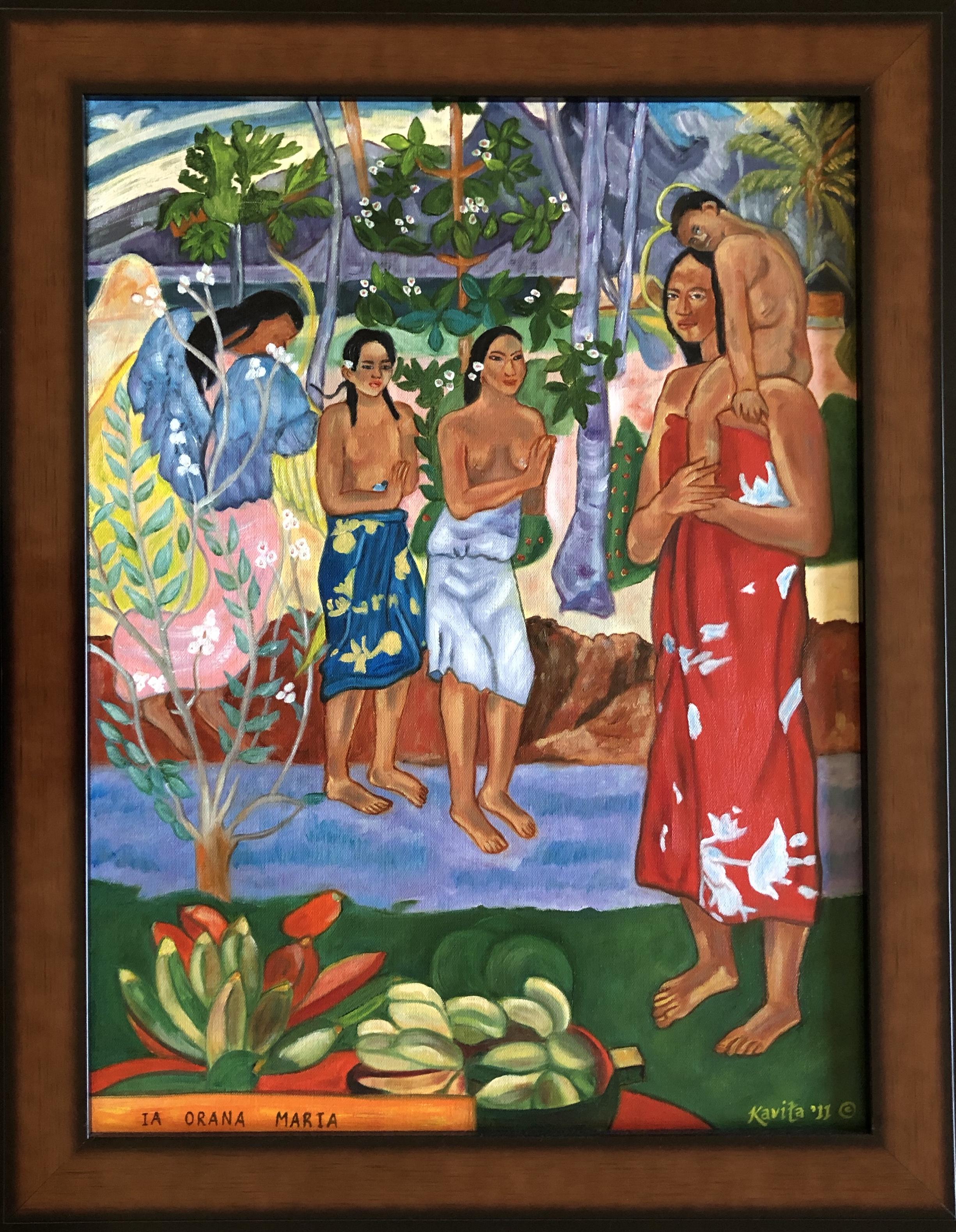 """Homage To Gauguin - """"Ia Orana Maria"""" - """"Hail Mary"""""""