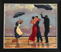 """Homage to Vettriano - """"The Singing Butler"""""""