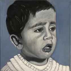 """""""Manju"""" - My brother as a toddler"""