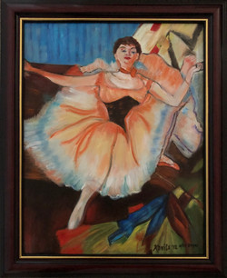 """Homage To Degas - """"Seated Dancer"""""""