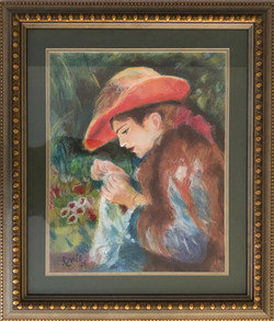Homage to Renoir - Marie Therese